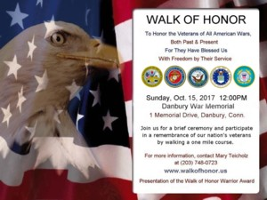 Walk of Honor Flyer
