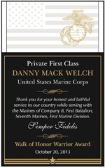 Private First Class Danny Mack Welch